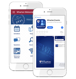 Download the Welcome Weekend App - MBA Welcome